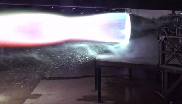 Маск показав перший запуск ракетного двигуна Raptor