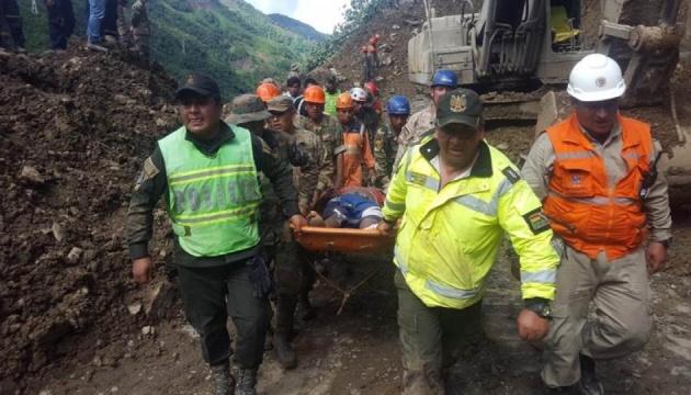 Під зсувом у Болівії загинули 11 людей