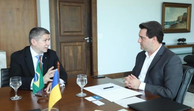 Україна хоче посилити співпрацю з бразильським штатом Паранá