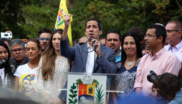 Гуайдо признали легитимным лидером Венесуэлы 54 страны – Госдеп США