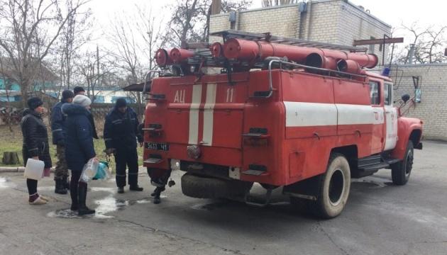 У Бердянську другу добу ремонтують колектор