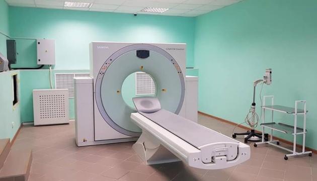 У Біловодській лікарні на Луганщині запустили комп'ютерний томограф