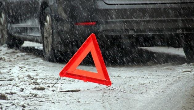 Letzten Tag in der Ukraine mehr als 700 Verkehrsunfälle gemeldet