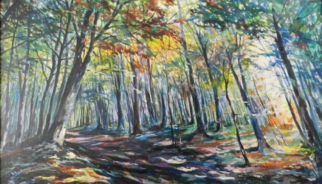 Голландські пейзажі та краєвиди Карпат - на виставці українського митця у Нідерландах