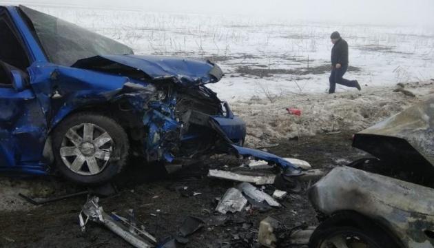 In der Region Donezk fünf Menschen bei einem Verkehrsunfall umgekommen
