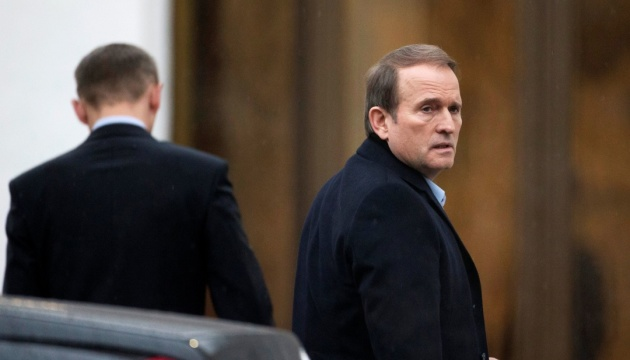 Criminal proceedings against Viktor Medvedchuk opened over high treason, encroachment on Ukraine's territorial integrity