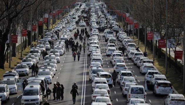 Мадридські таксисти завершили 16-денний страйк