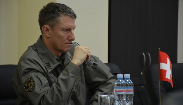Defense attaché of Swiss embassy visits Donetsk region. Photos