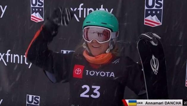Annamari Dancha gagne la première médaille de l'histoire de l'Ukraine au Championnat du monde de snowboard