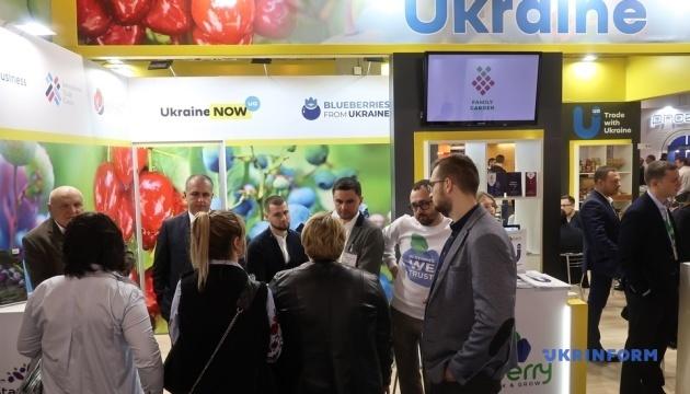 In Berlin Ausstellung Fruit Logistica mit Beteiligung der Ukraine eröffnet