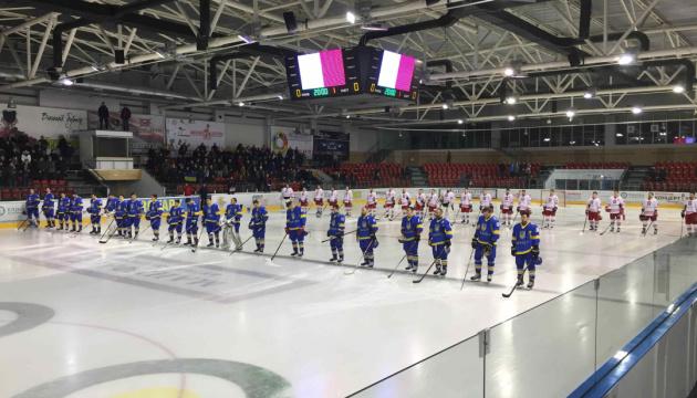 Хокей: Україна поступилась Польщі в дебютному матчі Срюбка