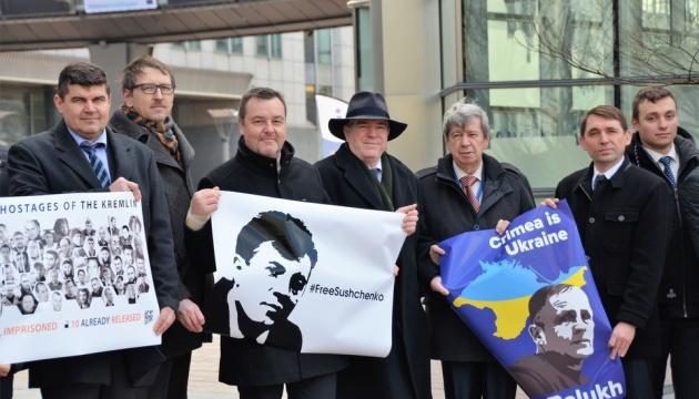 Посол України у Бельгії та депутати ЄП написали листи підтримки Сущенку і Балуху
