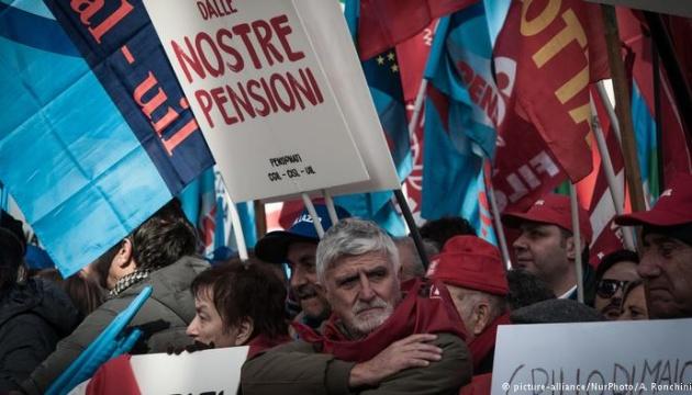 В Італії пройшла найбільша антиурядова демонстрація за чотири роки
