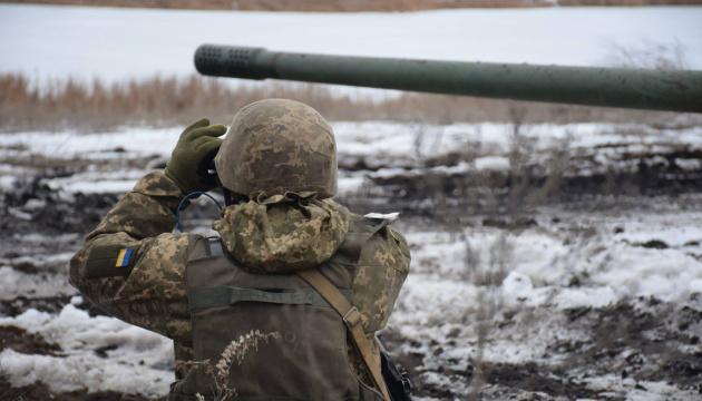 Wycofanie w Donbasie - okupanci w nocy przenoszą broń na nowe pozycje