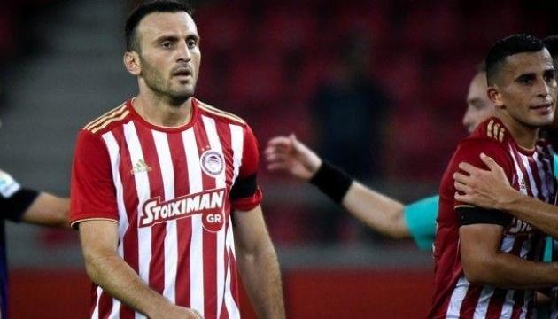 Футбол: після поразки від ПАОКа Олімпіакос зробить ставку на ігри з київським Динамо