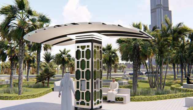 Ukrainian invention produces drinking water from air in Dubai's smart park. Photos