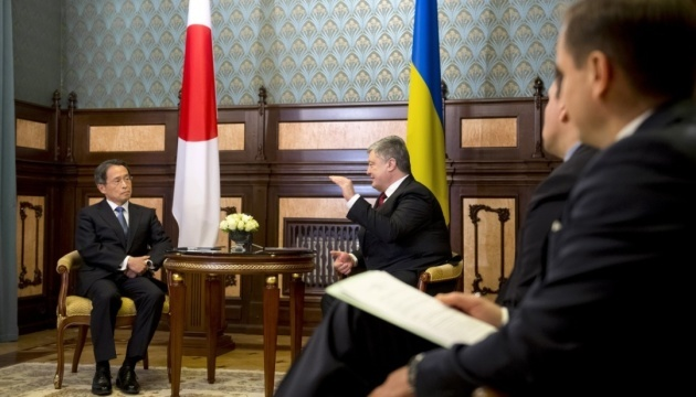 Ukrainian president receives credentials from ambassadors of Pakistan, Turkey and Japan
