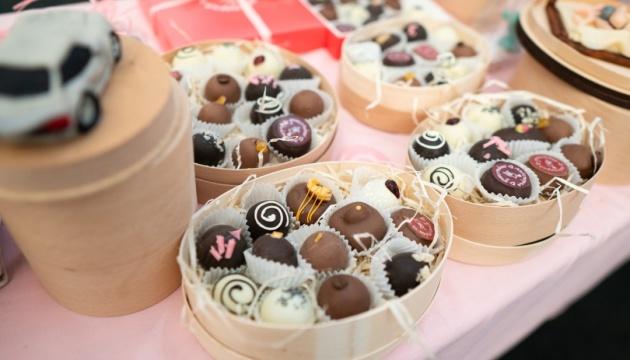 Тонни солодощів і весільні церемонії – у Львові пройде Свято шоколаду
