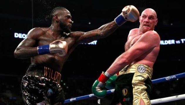 Став відомий гонорар Ф'юрі за боксерській бій-реванш з Вайлдером