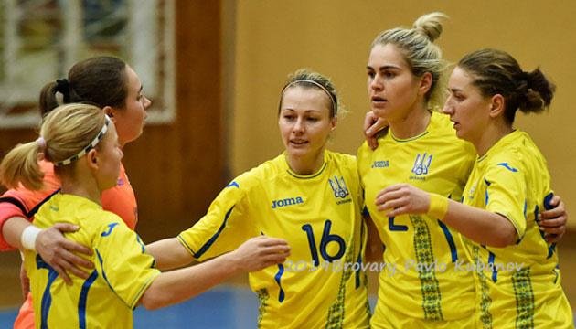 Став відомий склад збірної України на 1/2 фіналу жіночого Євро-2019 з футзалу