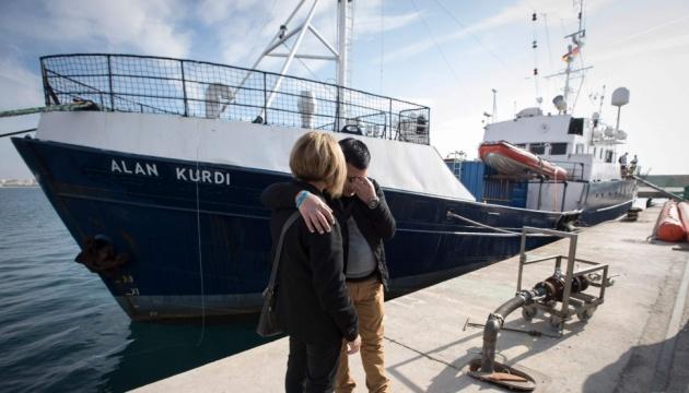 Іменем загиблого хлопчика-мігранта назвали рятувальний корабель