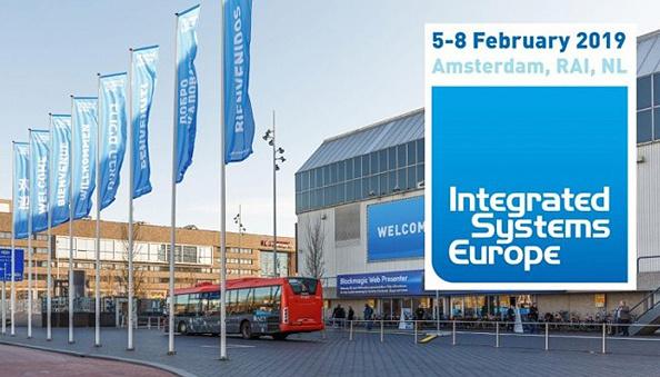 Украина - среди участников выставки Integrated Systems Europe 2019 в Амстердаме