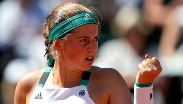 Латвійка Остапенко стала суперницею Світоліної у 2 колі турніру WTA у Катарі