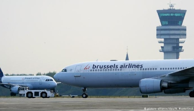 Повітряний рух над Бельгією закрили на добу через страйк