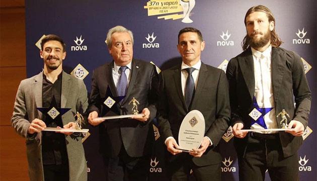 Чигринский стал лауреатом футбольного чемпионата Греции в прошлом сезоне