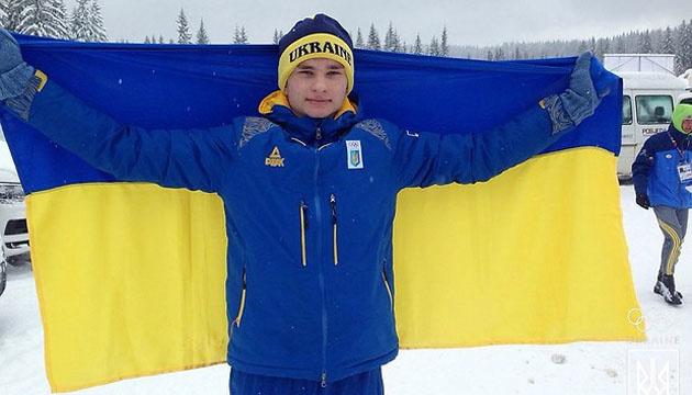 Біатлоніст Степан Кінаш прокоментував свою нагороду на ЄЮОФ-2019