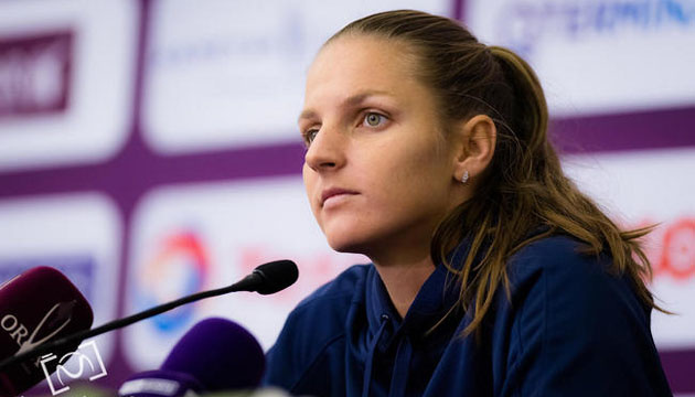 Кароліна Плішкова знялася з тенісного турніру WTA Premier  у Досі