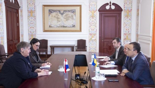Новий посол Хорватії Аніца Джамич розпочала дипмісію в Україні