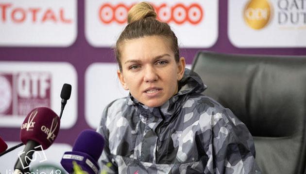 Сімона Халеп поділилася враженнями від гри проти Лесі Цуренко