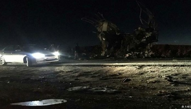 В Ірані підірвали вантажівку з вибухівкою, десятки загиблих