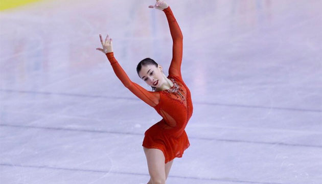 Українська фігуристка Архіпова – третя після довільної програми на ЄЮОФ-2019