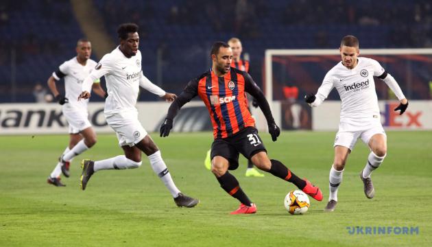 El Shakhtar empata 2-2 ante el Eintracht Fráncfort en los dieciseisavos de final de la UEFA Europa League (Fotos)