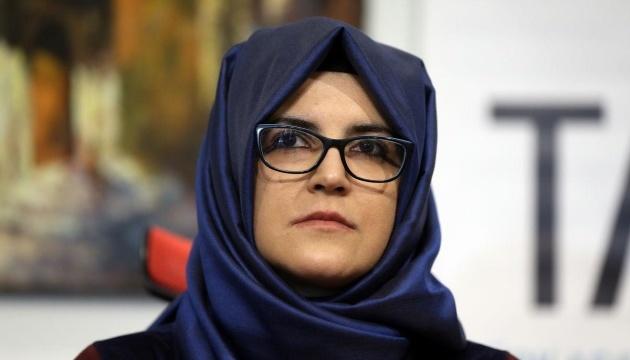 Нареченій журналіста Хашоггі також загрожувало вбивство