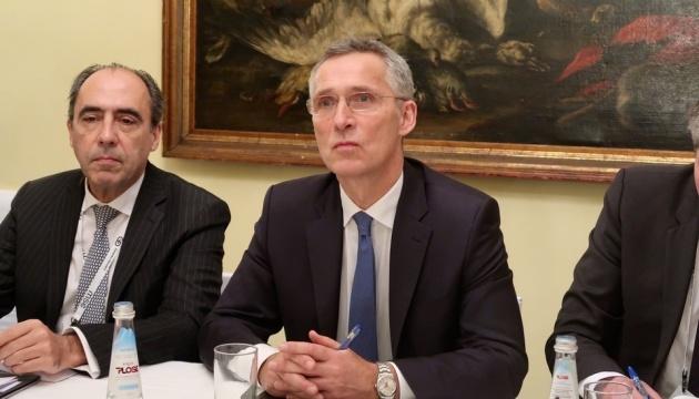 Stoltenberg discusses NATO summit, Ukraine, Belarus with Estonian PM