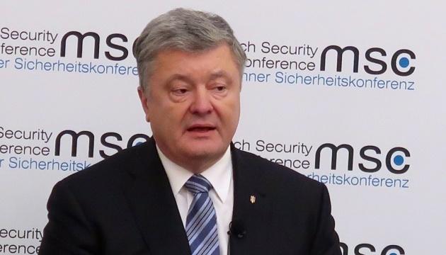 Порошенко: України не буде, якщо вона перестане захищатися