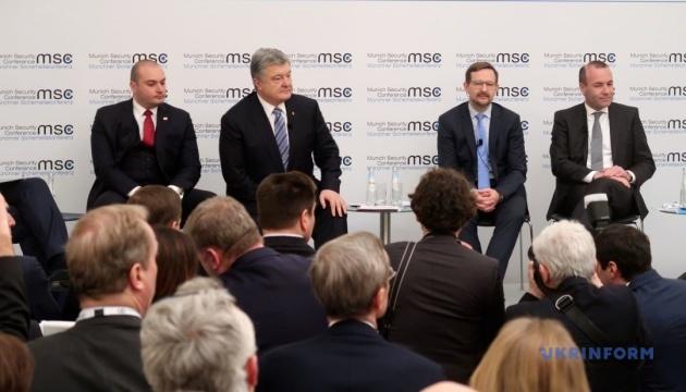 Präsident: Neutralität der Ukraine in 2014 rettete sie nicht vor russischer Aggression