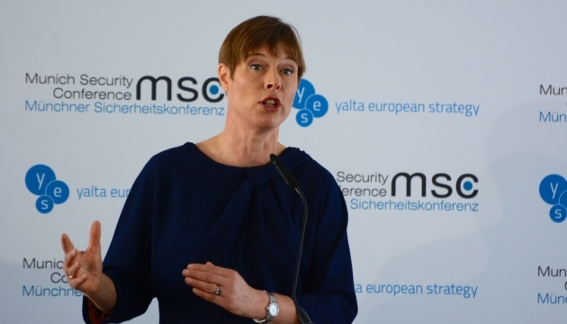 President Kaljulaid: Estonia supports Ukraine's aspirations to be closer to EU