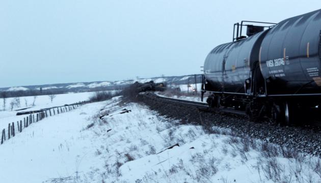 У Канаді зійшов з колії поїзд із нафтою