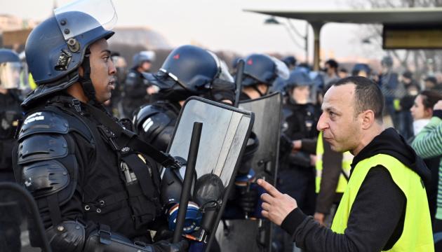 Поліція Парижа затримала понад 250