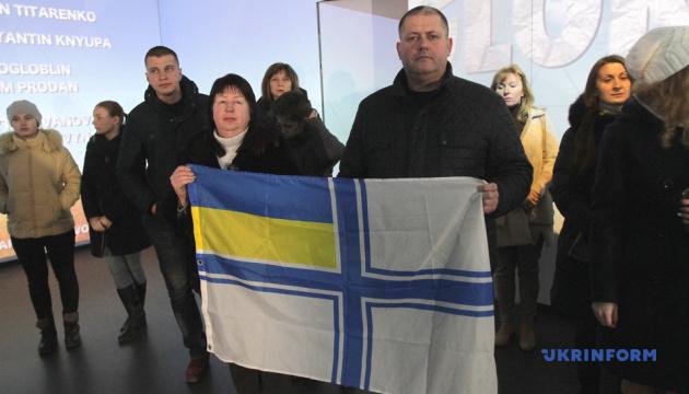 У Дніпрі пройшла акція на підтримку військовополонених моряків