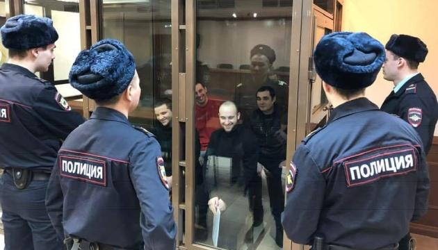 Arrest of four more Ukrainian captured sailors extended