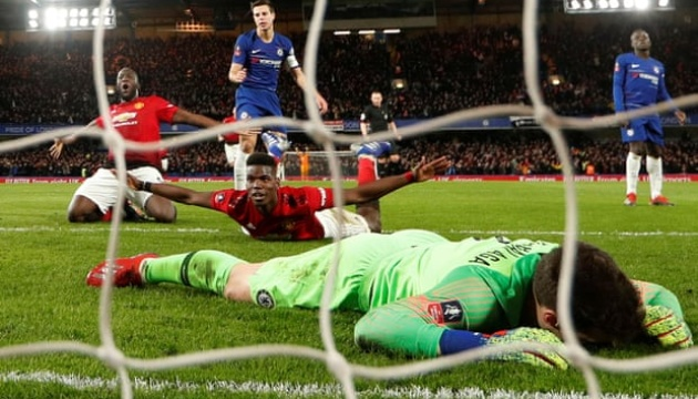 «МЮ» обіграв «Челсі» і вийшов у 1/4 фіналу Кубка Англії