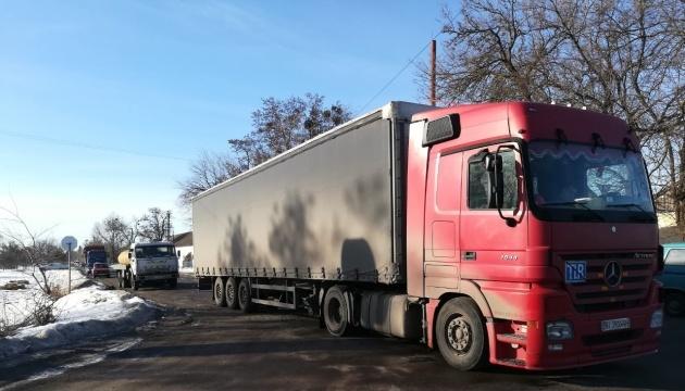 В Гадяче протестуют против невыплаты зарплаты: ограничили движение грузовиков
