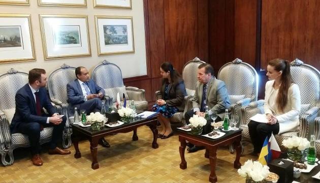 Україна і Катар обговорили питання реалізації інфраструктурних та IT проектів