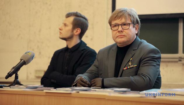"""Жемчугов презентував студентам фільм """"Бранці Кремля"""""""