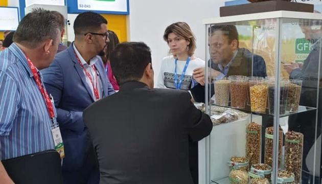 El stand de Ucrania en GULFOOD 2019 ha despertado gran interés (Fotos)